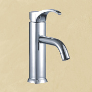 Single Hole Hot/Cold Water Bath Faucet Abf125
