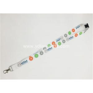 Cheap Custom Logo Webbing Sulimation Lanyard
