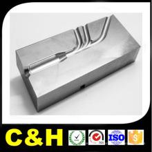 CNC moagem aço parte de metal por material C45 / Q235 / Q345 aço
