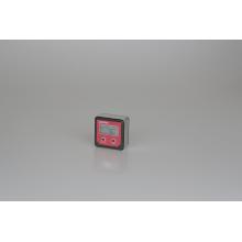 caixa de nível digital com grande display LCD e luz de fundo para ângulo de serra de mesa ajustável em corte de madeira