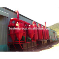 newest unique design biomass carbonization plant