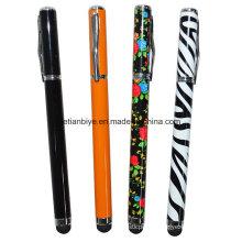 Сенсорный экран ручка-роллер с изготовленным на заказ Логосом (ЛТ-C412)