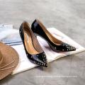 Wenzhou women's shoes factory direct ladies fancy sandals footwear