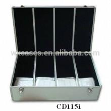 alta calidad y fuerte 800 CD discos aluminio caja CD por mayor