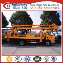 Dongfeng 12-18m alto que trabaja precio del carro (altura de trabajo máxima 18 m)
