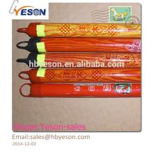 Hebei yeson pvc revestido madeira vassoura alça / mop vara