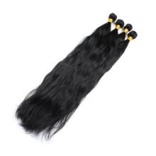Extensiones brasileñas virginales de alta calidad del pelo de la onda de Remy de la calidad