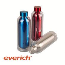 Impression personnalisée de transfert de chaleur sous-zéro bouteille d'eau en acier inoxydable