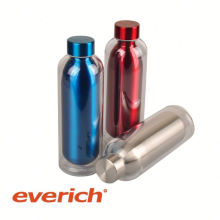 Impressão de transferência de calor personalizado garrafa de água subzero de aço inoxidável