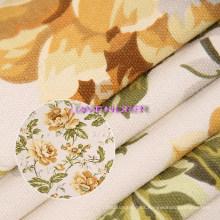 Patrón de flores 250 g tejido tela de la lona