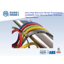 Corda de amarração de fibra de polietileno de peso molecular ultra alto (UHMWPE)