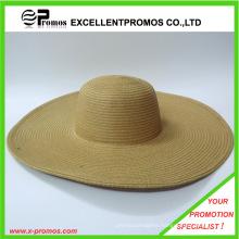 Latest Fashion Paper Straw Crochet Big Brim Hat (EP-H8296A)