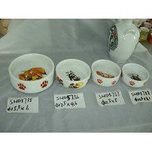 Bacias cerâmicas do animal de estimação (CY-P5785)