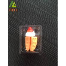 Kundenspezifische Kunststoff weichen süßen Verpackung Fach Fabrik
