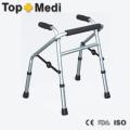 Faltende leichte Aluminium Walking Aid Portable Rollator