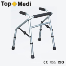 Folding Lightweight Aluminum Walking Aid Portable Rollator