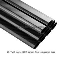 Tubo de fibra de carbono Hobbycarbon Rob Precio tubos de carbono octágono Cnc Corte 20x30x450mm