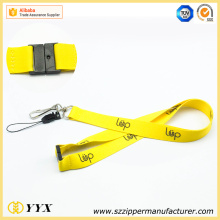 Eco-friendly kids emoticon customized logo label lanyard