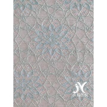 Tela de nylon de encaje de algodón