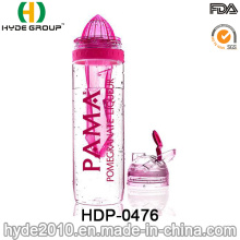 Populäre Plastikfrucht-Infuser-Flasche, Tritan-Frucht-Infusionsflasche (HDP-0476)