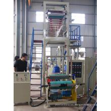 PE de alta velocidad de soplado de la película de la máquina