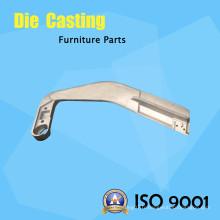 Polissage profond Aluminium Pièces de meubles Raccords de main courante
