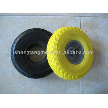 небольшие колеса pu пены 3,50-4 для ручной тележки