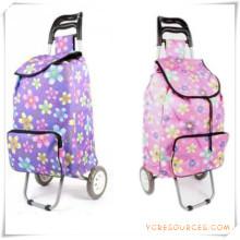 Bolso de la carretilla de las compras de dos ruedas para los regalos promocionales (HA82005)
