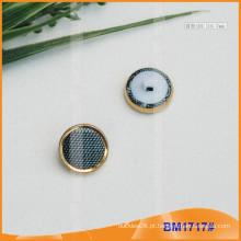 Combinado botão redondo coberto de tecido BM1717