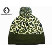 Chapeau chaud à la mode de mode classique Camo Winter Bonnet