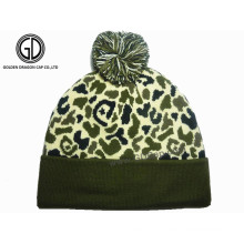 Chapéu feito sob encomenda feito sob encomenda do chapéu feito sob medida do inverno de Camo do costume