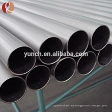 Tubo de titanio sin costura ASTM B861 grado 9 grado 9
