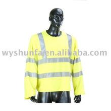 Camisetas reflectantes de seguridad