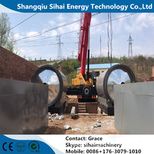 Tyre Oil Extraction By Pyrolysis Plant