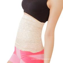 Fashion hollow lace shapewear breathable tight waist slimming belt girdle women