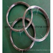 Alta calidad ASTM B348 Gr5 aleación de titanio