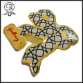 Printing Ribbon pin badge design making