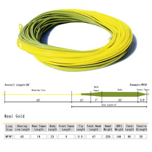 Top Grade Real Gold Fly Line