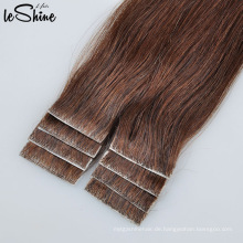 Meistverkaufte Billig Haar 100% Unverarbeitete Reine Brasilianische Haar Hand Gebunden Hauteinschlagfaden Pu Taped Haarverlängerungen