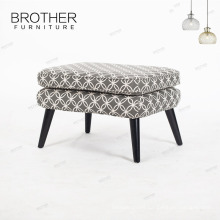high quality popular wholesale solid ottoman stool elegant design