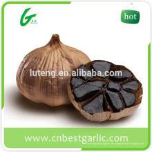 Certificados de ajo fresco negro