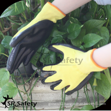 SRSAFETY cheap price/nitrile coating work gloves EN388 3121/work gloves