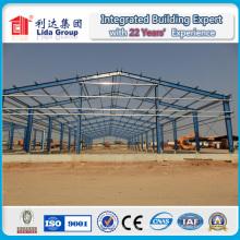 Leichte Stahlstruktur Afrika Lager / Werkstatt / Plant Factory