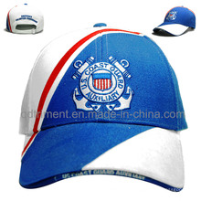 Custom Cotton Twill Sandwich Embroidery Leisure Baseball Cap (TMB6224)