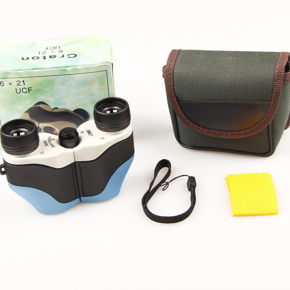 high quality promotion mini binoculars with light