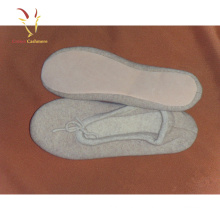 Frauen Wolle Casual Indoor Schuhe Warme Winter Cashmere Hausschuhe