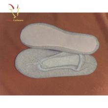 Chaussures d'intérieur occasionnels de laine de femmes chaudes pantoufles de cachemire d'hiver