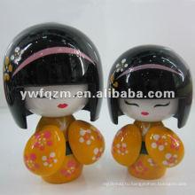 топ новые деревянные cipango сестра куклы для подарка
