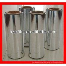 Filme de mylar em alumínio