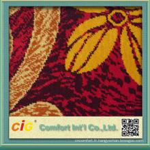 Plancher de tapis 100% polyester de haute qualité